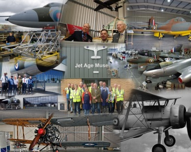 Jet Age Museum Collage