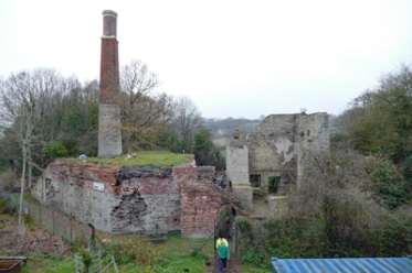 Old Pit at Brandy Bottom Colliery
