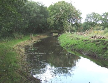 Re-watered length, Dunsdon