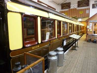 Sleeping Car 9038 in Gauge Museum