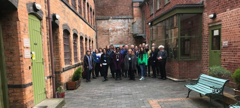 Don't fear it, embrace it! The power of social media to promote and engage -Industrial Heritage Network West Midlands (IHNWM) meeting at Coffin Works