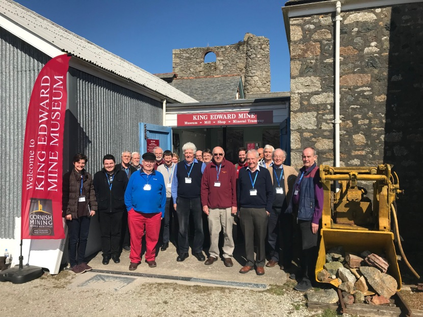 Discussing volunteering, education and governance at the inaugural meeting of the Industrial Heritage Network Cornwall & Devon(IHNCD)