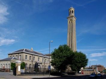 Tower and main hall