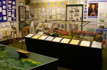 Inside Wandle Museum