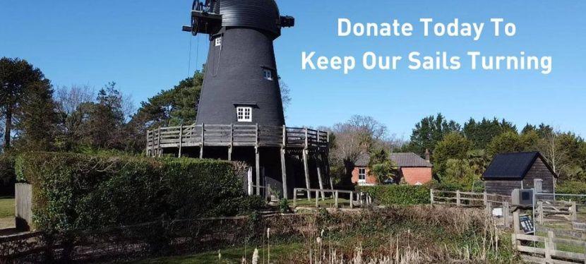 Help Keep Bursledon Windmill's SailsTurning